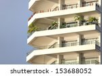 apartment building  | Shutterstock . vector #153688052