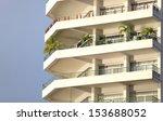 apartment building  | Shutterstock . vector #153688052