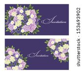 set of invitations | Shutterstock . vector #153693902
