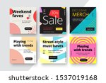 modern promotion square web... | Shutterstock .eps vector #1537019168