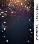 christmas background design... | Shutterstock .eps vector #1537201538