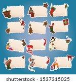 merry chirstmas vector funky...   Shutterstock .eps vector #1537315025