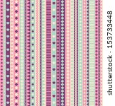 Ribbon Seamless Pattern. Vecto...