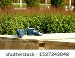 Children\'s Sandals Of Blue...