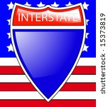 interstate sign | Shutterstock . vector #15373819