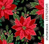 Seamless Christmas Pattern Wit...
