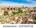 Aerial Panoramic Cityscape Vie...