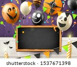 modern halloween party header... | Shutterstock .eps vector #1537671398