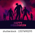 vector illustration. happy... | Shutterstock .eps vector #1537690295