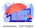 business people work with... | Shutterstock .eps vector #1537715825