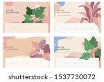 vector abstract logo design... | Shutterstock .eps vector #1537730072