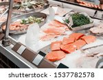 Fresh Red Salmon For Sale At...