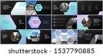 minimal presentations design ... | Shutterstock .eps vector #1537790885