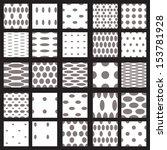 Set Of Elegant Dot Patterns In...