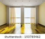 the empty room with plaster... | Shutterstock . vector #153785462