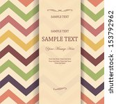 invitation with seamless vector ... | Shutterstock .eps vector #153792962