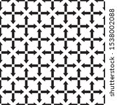 arrows seamless pattern with... | Shutterstock .eps vector #1538002088