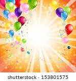 bright holiday background with...