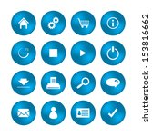 various web icons with special...