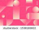 geometry minimalistic artwork... | Shutterstock .eps vector #1538183822