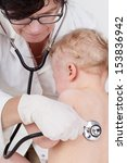 toddler to study at the doctor | Shutterstock . vector #153836942