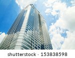 office building on sky... | Shutterstock . vector #153838598
