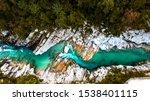 Emerald Soca River In Soca...