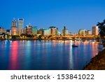 Portland Oregon At Night