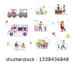 summer fest  food street fair ...   Shutterstock .eps vector #1538436848