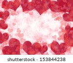 abstract valentine's day... | Shutterstock . vector #153844238