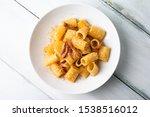 Pasta Alla Gricia  Dish Of...