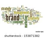 vector eps concept or... | Shutterstock .eps vector #153871382