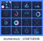 infographic vector brochure...   Shutterstock .eps vector #1538718548