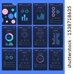 modern infographic vector... | Shutterstock .eps vector #1538718635