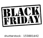 Black friday grunge rubber stamps on white, vector illustration