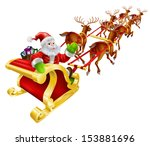 background,bag,black,card,cartoon,chrismas,christmas,claus,clause,deer,deers,deliver,driving,elements,everyone