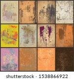 vector grunge multiple overlay... | Shutterstock .eps vector #1538866922