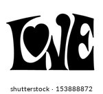 love banner   retro clip art...