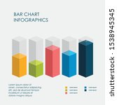 bar chart infographics elements ... | Shutterstock .eps vector #1538945345