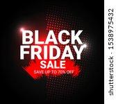 black friday sale banner... | Shutterstock .eps vector #1538975432