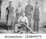 us   kansas   circa 1885   a... | Shutterstock . vector #153899975