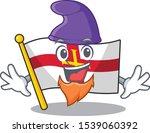 elf flag guernsey isolated in... | Shutterstock .eps vector #1539060392