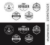set of nautical logos  badges... | Shutterstock .eps vector #1539076325