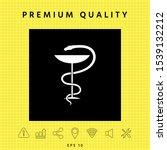 pharmacy symbol medical snake... | Shutterstock .eps vector #1539132212