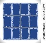 set of frosty pattern frames.... | Shutterstock .eps vector #1539157895