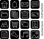 icon set of basic ui for...