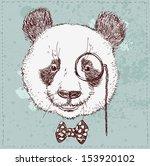 vintage sketch  illustration of ... | Shutterstock .eps vector #153920102