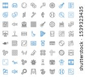 Play Icons Set. Collection Of...