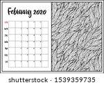 2020 antistress calendar ...   Shutterstock .eps vector #1539359735
