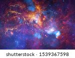Beautiful Nebulaes In Outer...